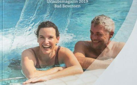 Fotoshooting Jod-Sole-Therme Bad Bevensen für Tourismus Broschüre