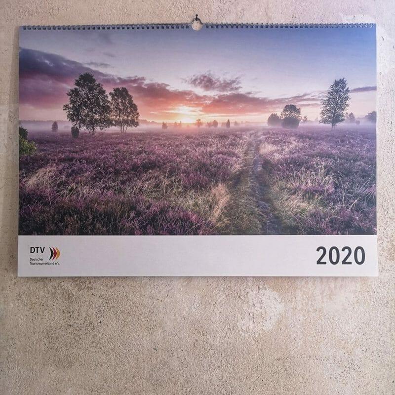 Tourismus Fotografie, Deutscher Tourismusverband, Bundestags Jahreskalnder, Titelbild, Deutschland